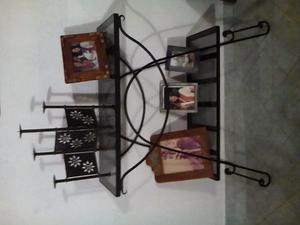 Mueble Para Sala En Hierro Forjado