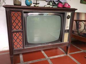 Mueble - Tv Antiguo General Electric