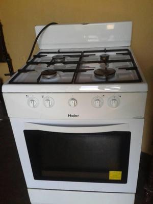Cocina haier 5 hornillas con horno grande posot class - Cocina con horno ...