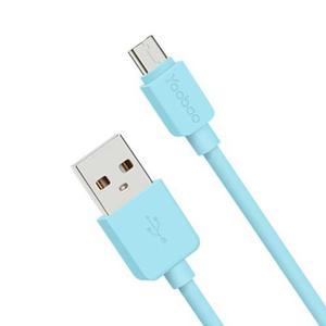 Cable Micro Usb De Carga Rápida Datos Yoobao Yb-411 Azul