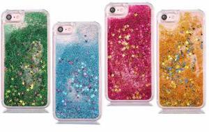 Forro Escarchado Liquido Iphone 4 4g 4s 5 5g 5s 6 6g 6s Case