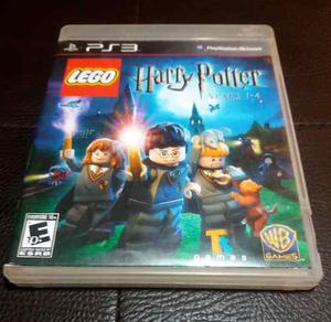 Juego Infantil Lego Harry Potter Para Ps3 Como Nuevo