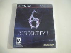 Juego Ps3 Resident Evil 6 (Original)