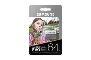 Memoria Micro Sd Samsung Evo 64 Gb