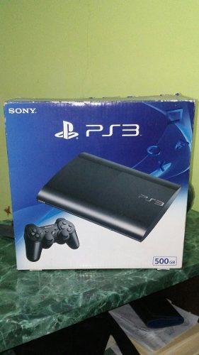 Playstation 3 Nuevo En Su Caja 500gb