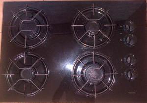 Tope De Cocina A Gas 4 Hornillas De Vitroceramica.