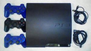 Vendo Playstation 3 + 2 Juegos + 3 Controles