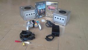 2 Consolas Nintendo Game Cube,usado,con 4juegos Originales.