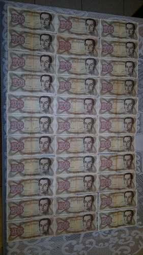 Billetes Antiguos Venezolanos Lote Coleccion
