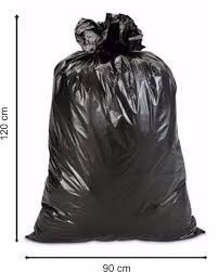 Bolsas Plasticas Negras Extra Fuerte 30kg 16 Micras
