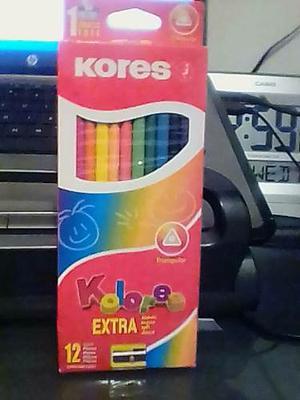 Colores Kores 12 Unidades