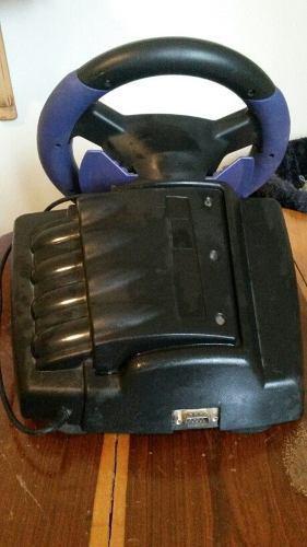 Consola Nintendo Game Cube Volante Pedales Control Cable
