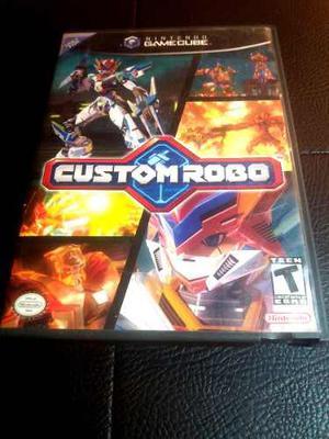Juego Clasico Custom Robo Para Nintendo Gamecube Original