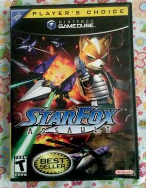 Juego De Gamecube Star Fox