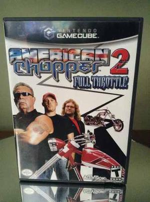 Juego Para Nintendo Game Cube American Chopper Original