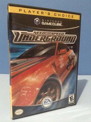 Juego Para Nintendo Game Cube Need For Speed Original