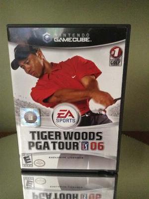 Juego Para Nintendo Game Cube Tiger Woods Pga 06 Original