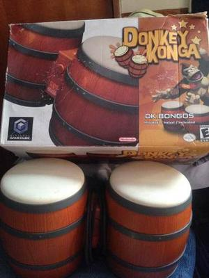 Konga + Juego Donkey Konga De Nintendo Game Cube Original
