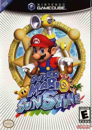 Mario Sunshine Metroid Gamecube Juegos Originales