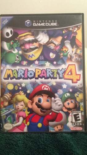 Marioparty 4 De Nintendo Game Cube Original