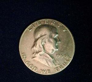 Medio Dolar De Plata Pieza De Colección