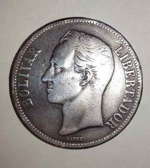 Moneda 5 Bolivares O Fuerte De