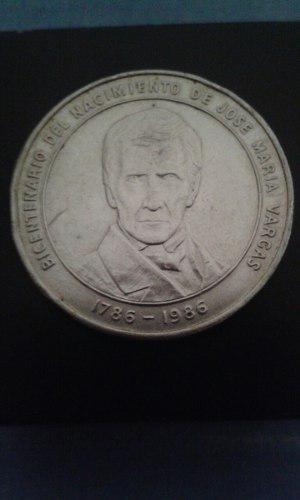 Moneda Aniversario José Maria Vargas