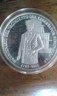Moneda Conmemorativa Simon Bolivar