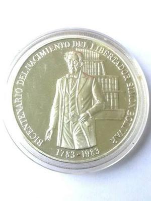 Moneda De Plata. Bicentenario Libertsdor.