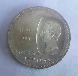 Moneda De Plata Doblon De 10 Bs Beachin