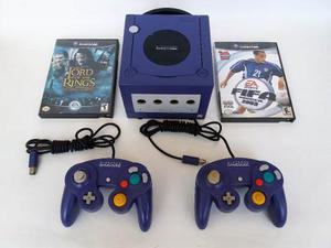 Nintendo Gamecube Original + 2 Controles + Juegos + Memoria