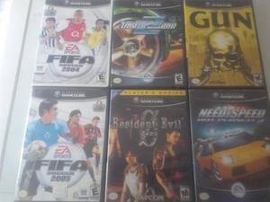Vendo Juegos De Gamecube Cada Uno Al Precio Bublicado