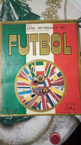 Album Mundial De Fútbol Italia 1990 Coleccionable