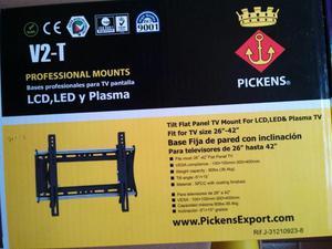 BASE PROFESIONAL PARA TV PANTALLA LCD, LED y Plasma