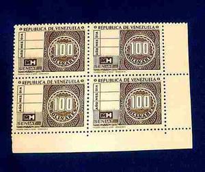 Ji Timbre Fiscal 100 Bs Colección