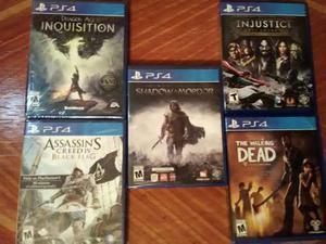 Juegos Playstation 4 Nuevos Posot Class