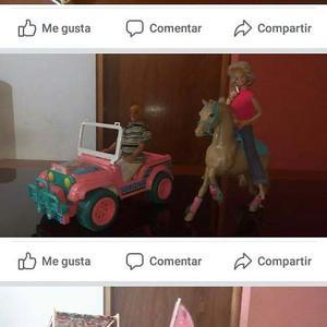 Juguete Caballo De La Barbie.