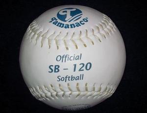 Pelotas De Softball Tamanaco (sello Azul) Letras Azules