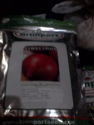 Semillas De Cebolla Roja Certificada