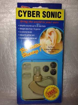 Aparato Auditivo Cyber Sonic