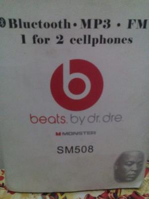 Audífonos Beats Mp3 Fm