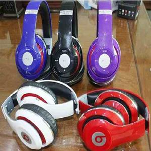 Audifonos Beats Inalambricos Bluetooh Micro Sd Mp3 Radio