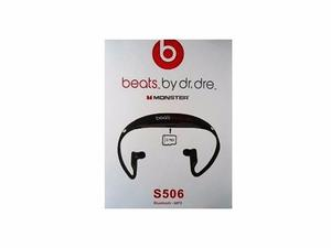 Audifonos Beats Tipo Chupon Especial Bluetooth Mp3 S506