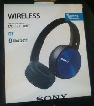 Audifonos Sony Bluetooth Wireless Mdr -zx330bt/b Original