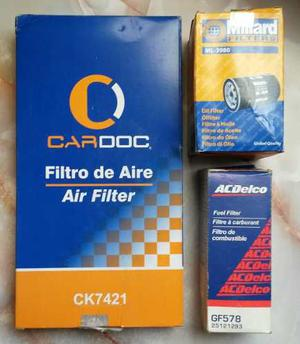Combo / Kit Filtros Gasolina, Aire Y Aceite Para Blazer 98
