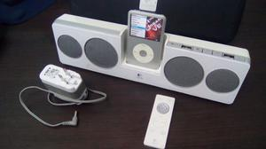 Ipod Classic 120 Gb Con Cornetas Inalambricas Recargables