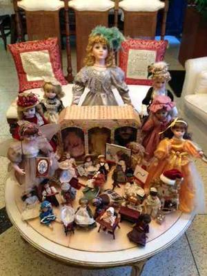 Muñecas De Colección Porcelana Importadas Se Vende