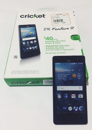Telefono Celular Zte Fanfare 2 Z815 Android 6.0 8gb Quadcore