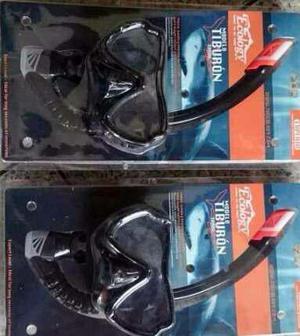 Careta De Buceo Profesional Nivel Experto Modelo Tiburon