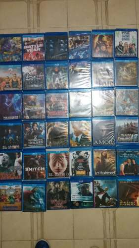 Lote De 50 Películas En Bluray